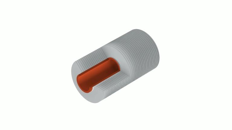 LaserFin-Rippenrohr