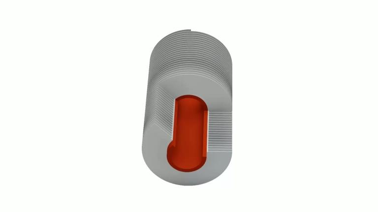 E-Fin-Rippenrohr